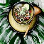 Salade de lentilles à l'orientale - Magali Ancenay