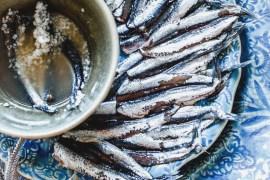 Anchois au Sel - Magali ANCENAY photographe culinaire