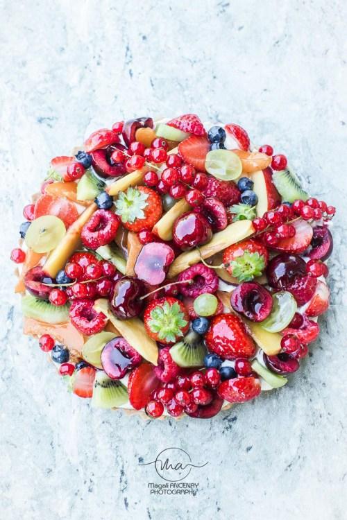 Tarte Tutti Frutti - Magali ANCENAY photographe culinaire
