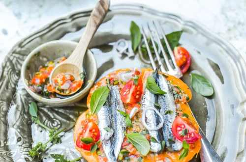 Tomate Ancienne Anchois - Magali ANCENAY photographe culinaire