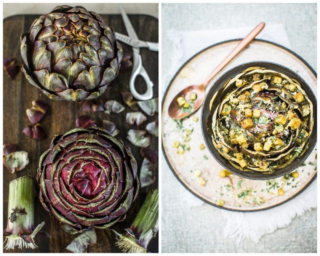 Artichauts Vénitienne - Magali ANCENAY Photographe Culinaire