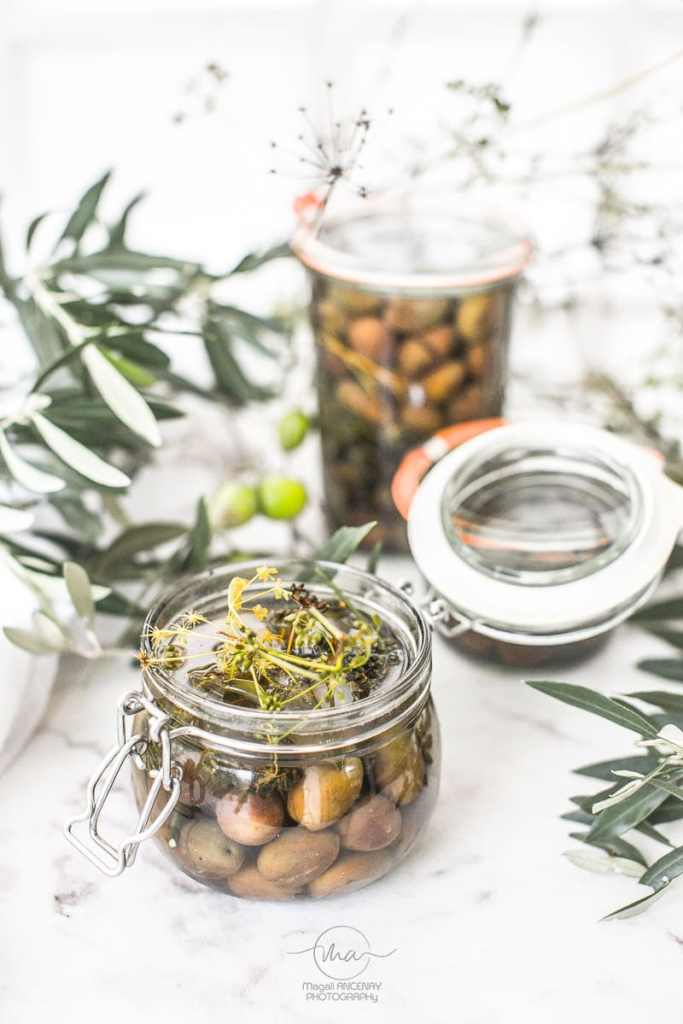 OLIVES CASSEES - Magali ANCENAY Photographe Culinaire