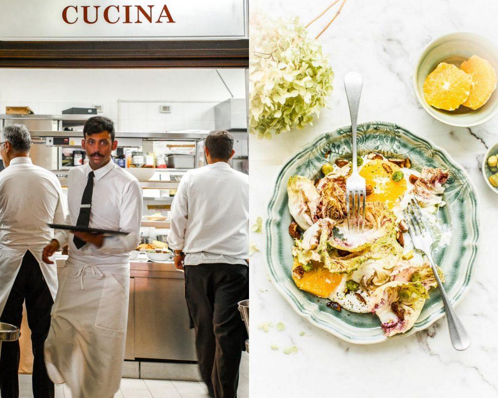 Salade radicchio orange et Mozzarella - Magali ANCENAY Photographe Culinaire
