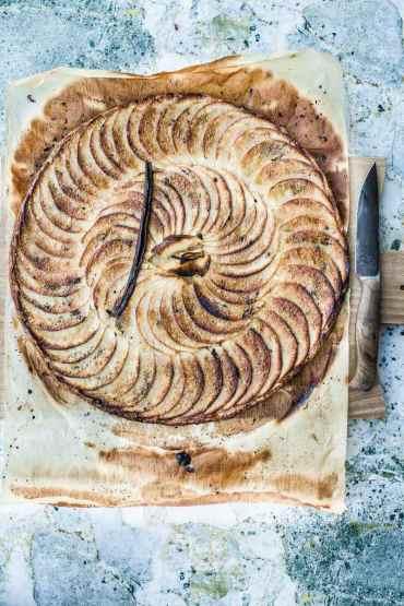 Tarte aux pommes fine- Magali ANCENAY PHOTOGRAPHE Culinaire