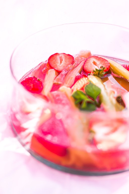 Soupe fraises rhubarbe - Magali ANCENAY PHOTOGRAPHE CULINAIRE