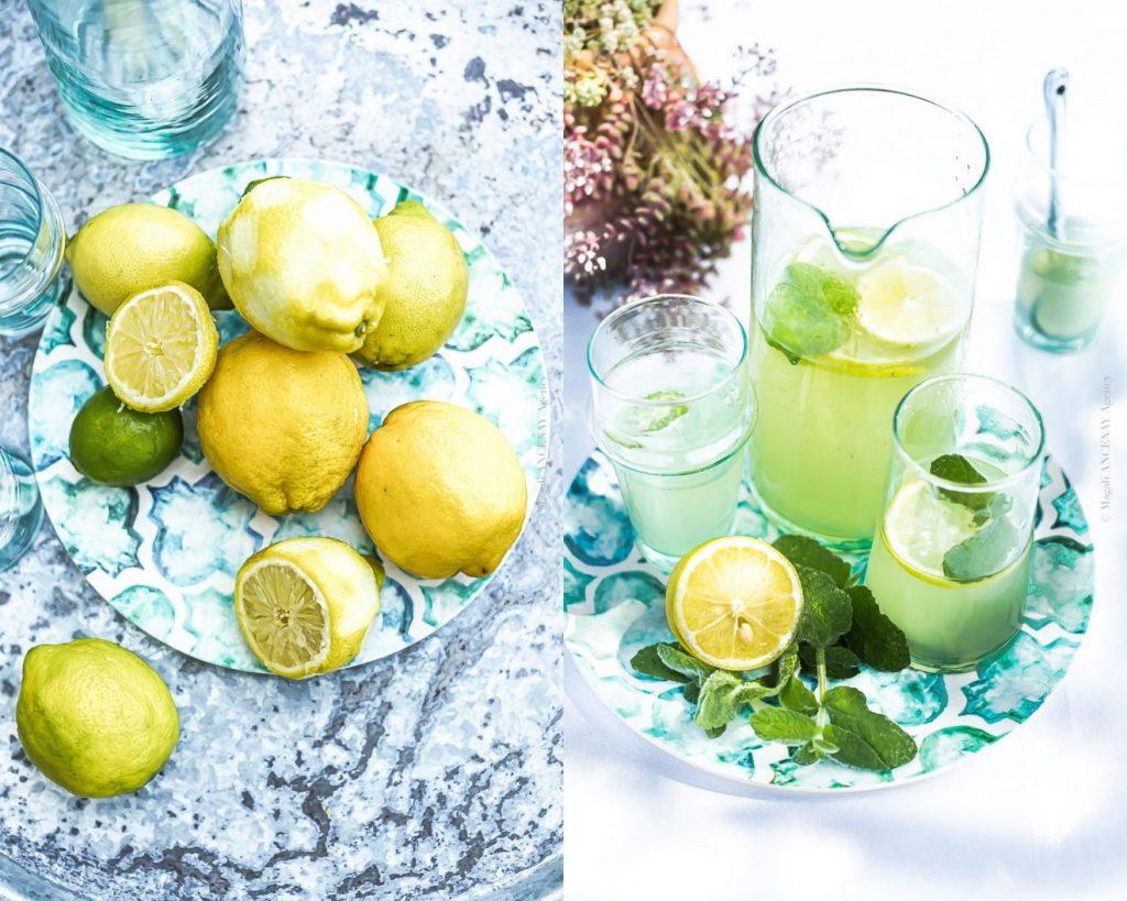 Faire une citronnade maison - Magali ANCENAY PHOTOGRAPHy