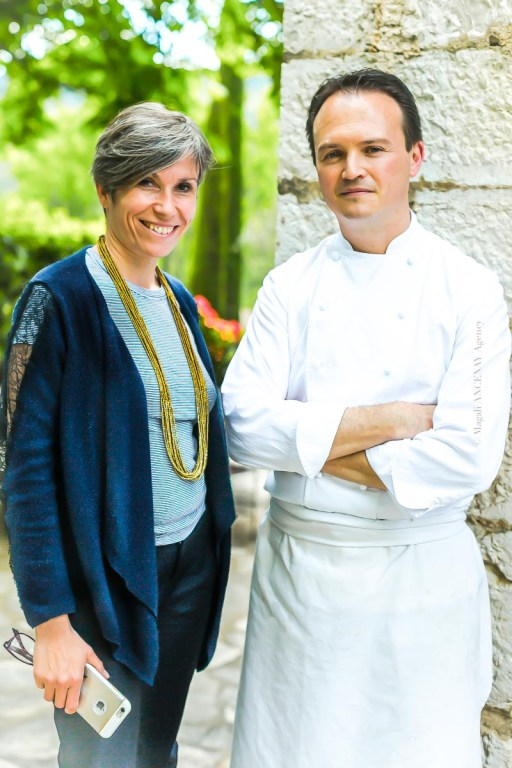 Sarah Chailland et le Chef Frédéric Garnier