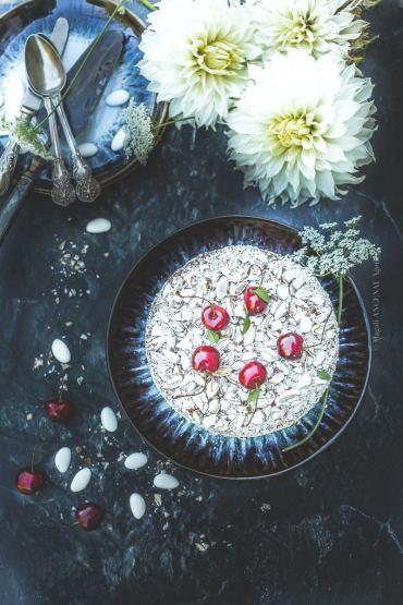 cake griotte dragées - Magali ANCENAY AGENCY
