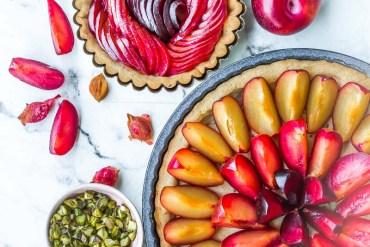 Tarte aux prunes Métis®- Magali ANCENAY AGENCY