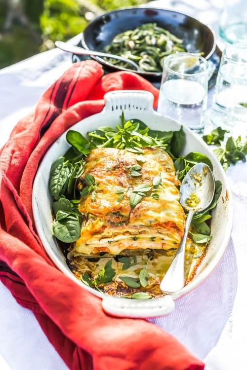 Lasagnes de légumes - Magali ANCENAY Agency