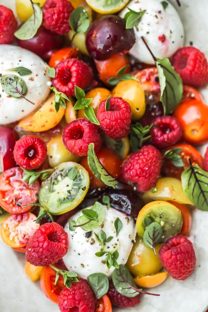 tomate mozzarella du chef christophe Adam- Magali ANCENAY