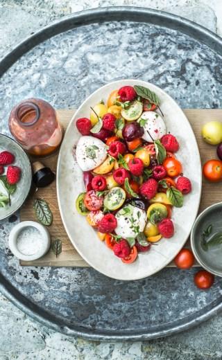 Tomate mozzarella du chef Christophe Adam