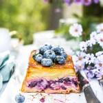 Gâteau invisible aux pommes myrtilles Cyril Lignac - Magali ANCENAY