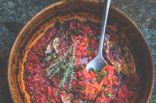 Sauce tomates confites maison- Magali ANCENAY