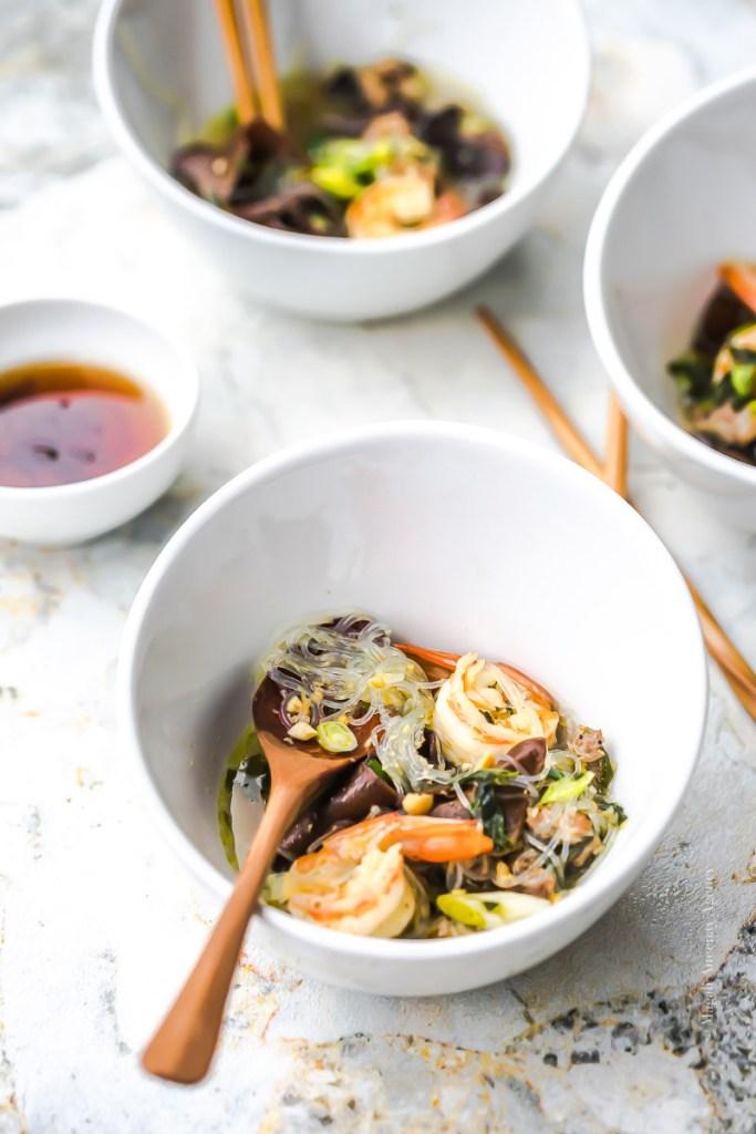 Soupe vietnamienne Porc crevettes - Magali Ancenay
