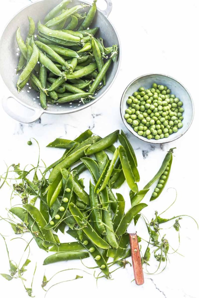 Légumes verts : les petits pois - Magali Ancenay