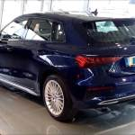 New Audi A3 Sportback Arrives At Dealer See It Inside And Out