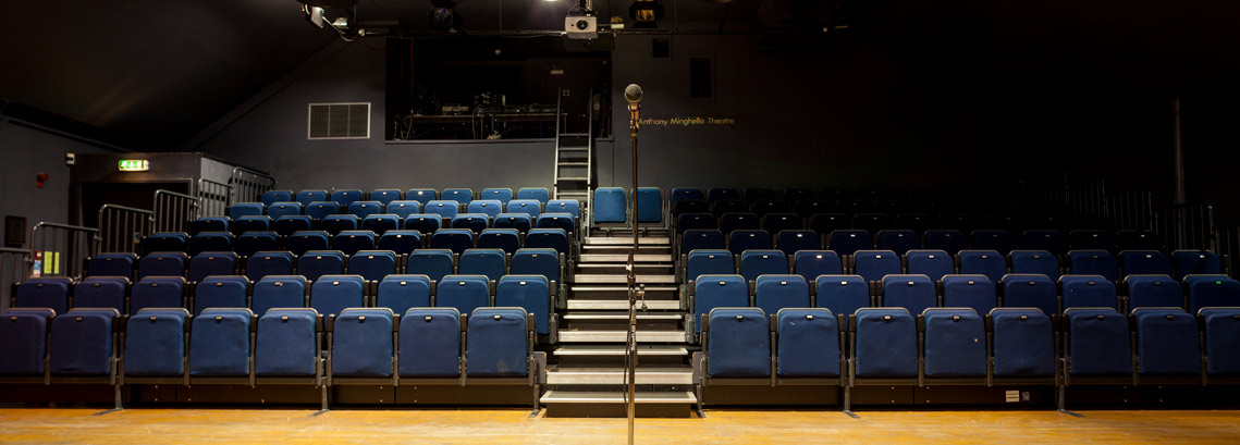 Mingella Theatre view of seating from stage