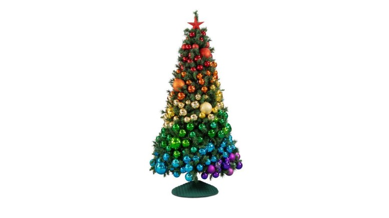 New Rainbow Christmas tree supports mental health charities