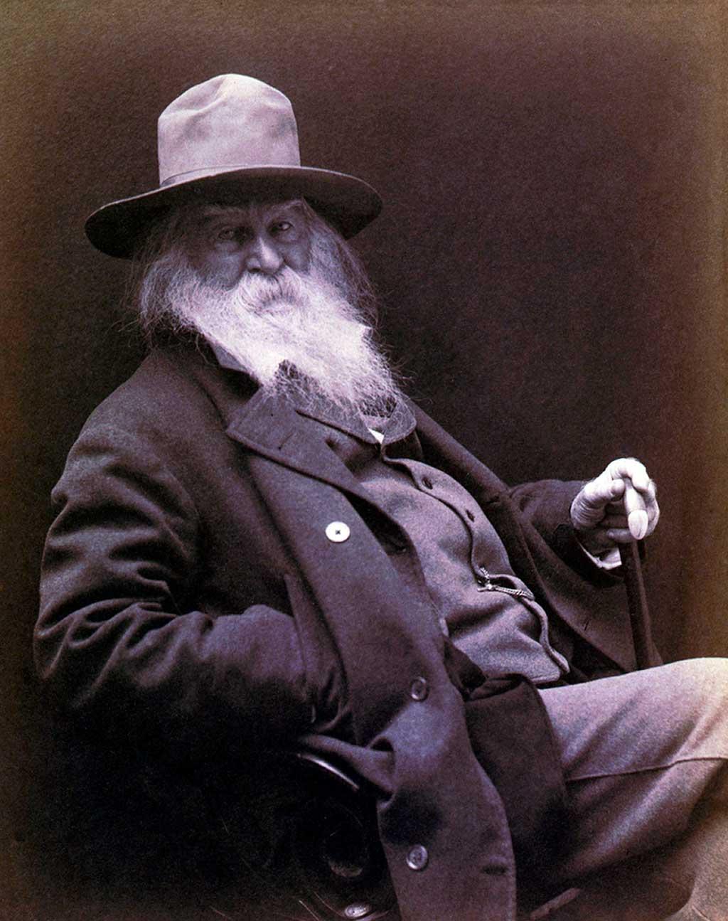 Eduardo Lago. Walt Whitman.