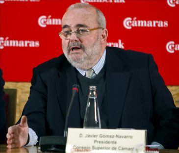 Javier Gómez-Navarro dimite como presidente de las Cámaras de Comercio