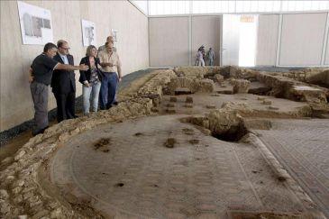El yacimiento romano de Las Cuevas de Soria se abrirá definitivamente en 2012