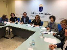Gobierno y Cabildos planifican el trabajo del 2018 en materia de servicios sociales