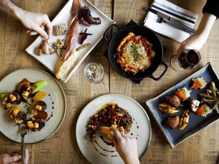 40 restaurants pour des mets a emporter