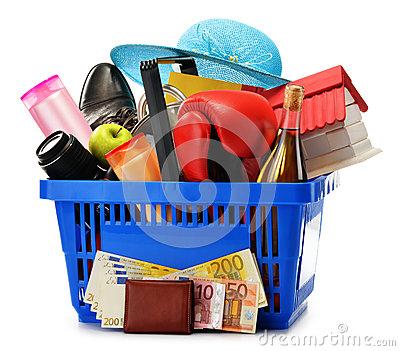 Variedad de compras