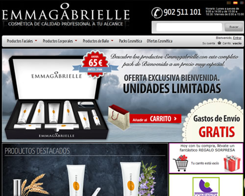 Cosmetica Online-tiendas online