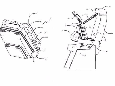 Boeing patenta un sistema para dormir en los aviones
