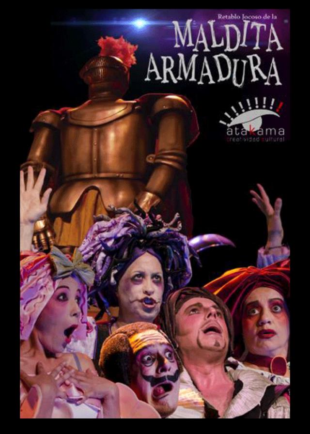 RETABLO JOCOSO DE LA MALDITA ARMADURA (ATAKAMA PRODUCCIONES, 2014)