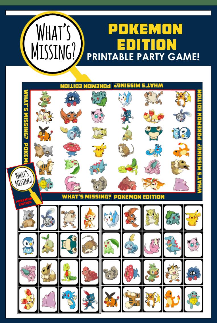 Top 12 Pokemon Party Games