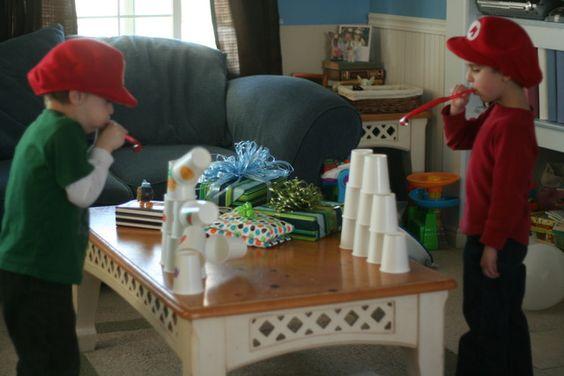 Top 10 Mario Birthday Party Games