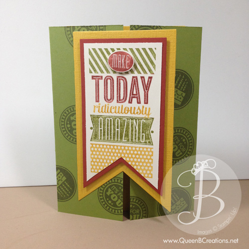 amazing birthday peekaboo card