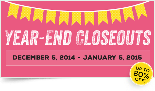 year end closeouts