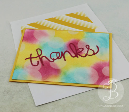 Stampin' Up! Bokeh Technique - Textures & Techniques Stampin' Pals Blog Hop