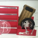 Mechanics Toolbox fancy fold card made by Stampin