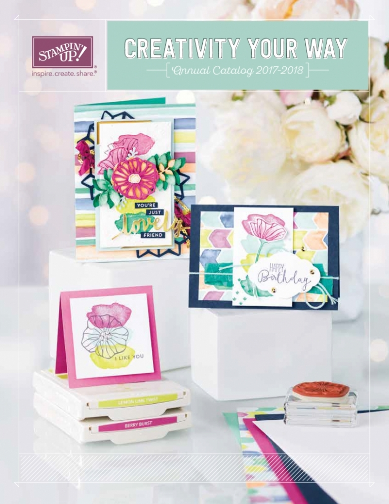 Stampin' Up! 2017-2018 Annual Catalog