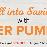 half off paper pumpkin promotion from Stampin