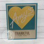 handmade card made using the boxes from Amy