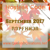 sept 2017 hostess code