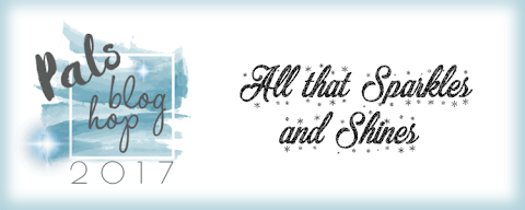 All that sparkles and shines stampin pretty pals blog hop banner