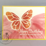 Handmade Happy Birthday card made using Stampin