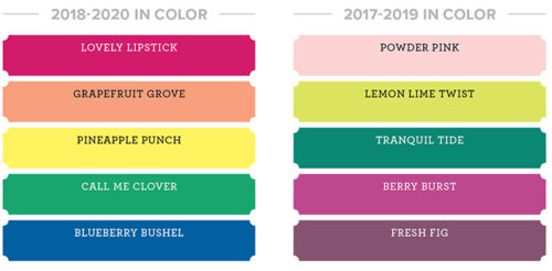 Stampin' Up! in-colors