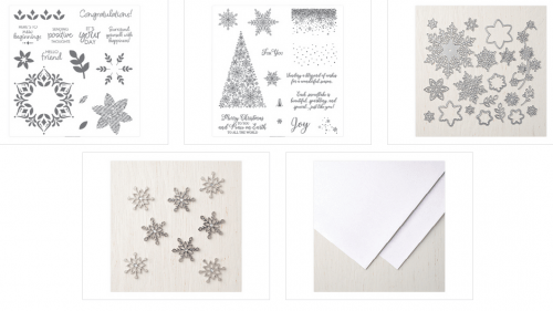 Stampin' Up! Snowflake Showcase special for November 2018 Limited Release products