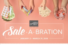 Let's Sale-A-Brate – Stampin' Up! Sale-A-Bration!