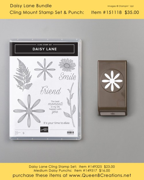Stampin' Up! Daisy Lane stamp set from the 2019-2020 Annual Catalog
