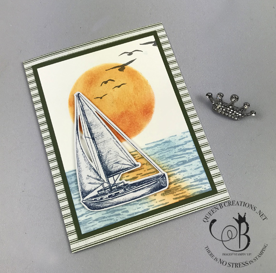 Stampin' Up! Paper Pumpkin July 2019 paper pumpkin possibilities alternative ideas blog hop by Lisa Ann Bernard of Queen B Creations