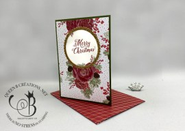 Christmastime is Here Window Card